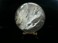レインボークリスタル丸玉 104.5mm 稀少大玉 021